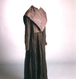 1870s Quaker Dress and Capelet