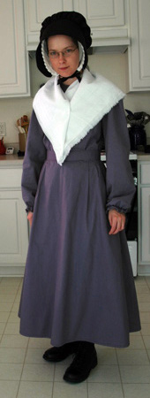 Quaker plain dress